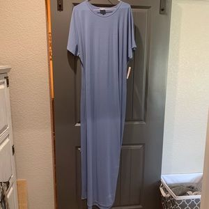 2XL Maria Dress Denim Blue
